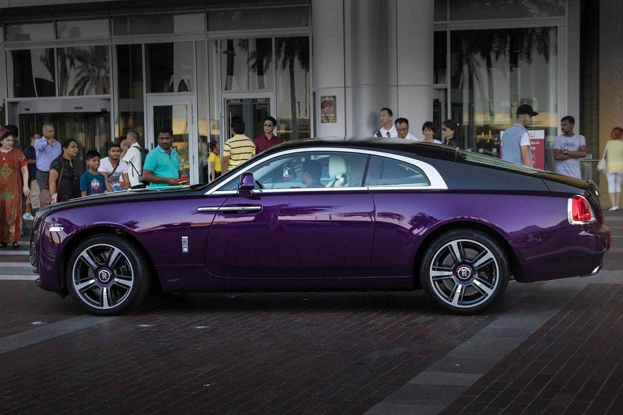 Фиолетовая Бентли