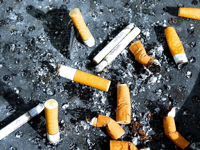 Последние выкуренные сигареты