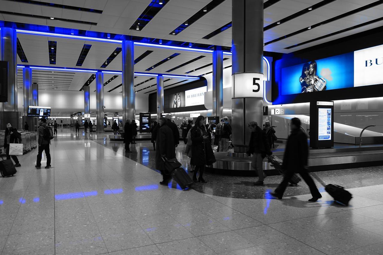 Получение багажа в аэропорте