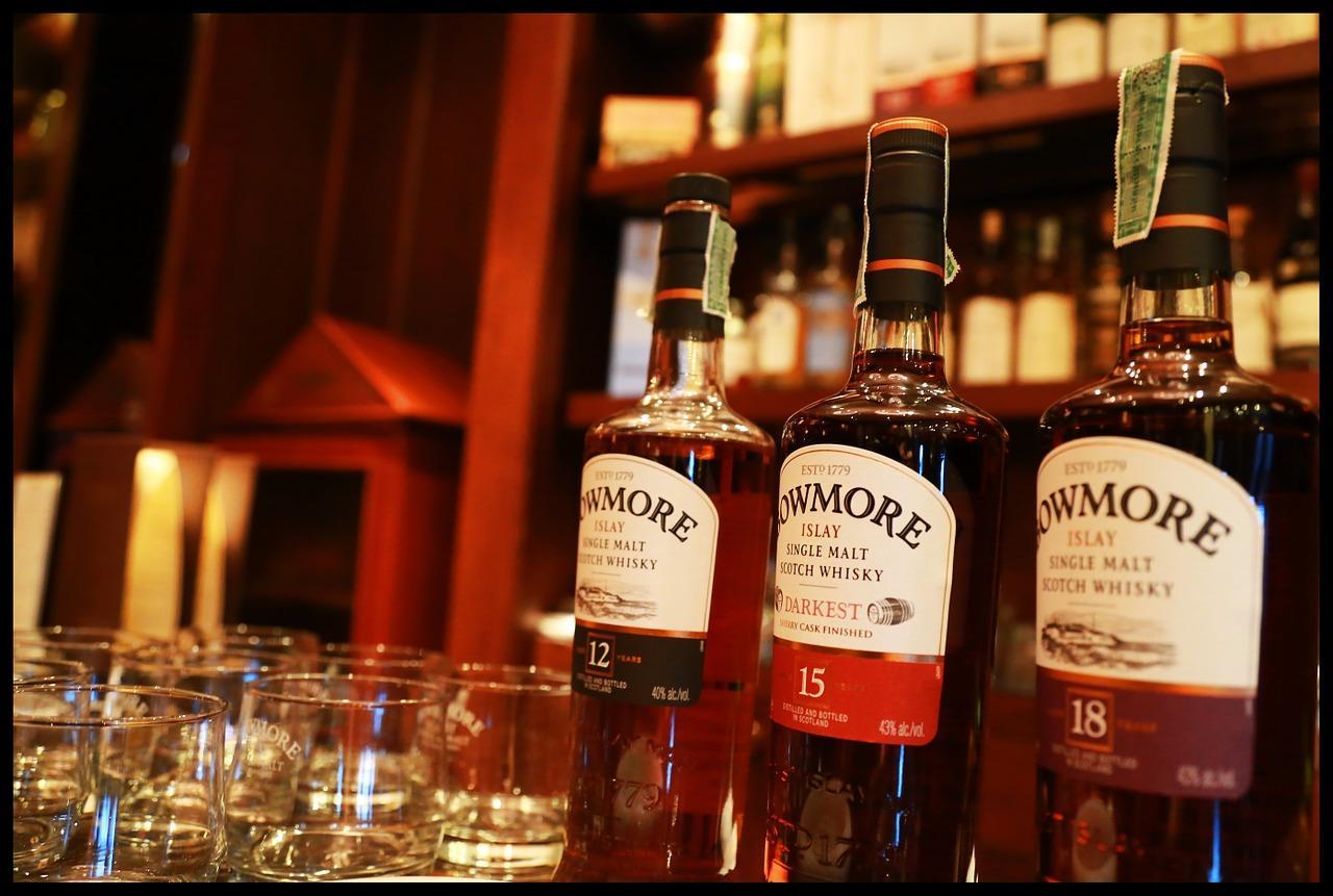 Фото бутылок элитного виски