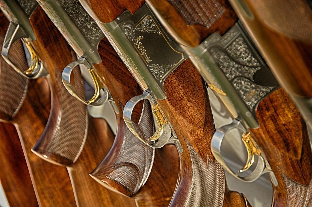 Фото старинных ружей