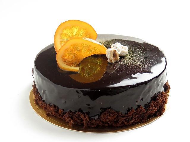 Глазированный торт