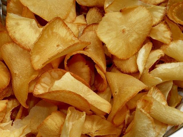 Вкусные домашние чипсы