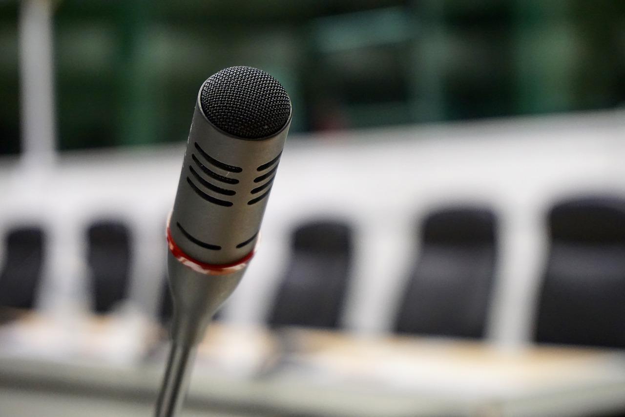 Фото микрофона для разговора
