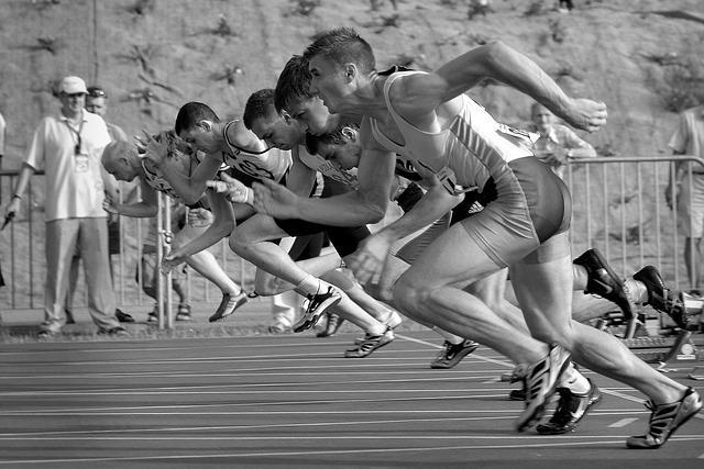 Спринтеры на старте