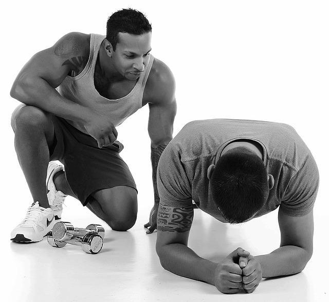 Упражнение планка для сушки