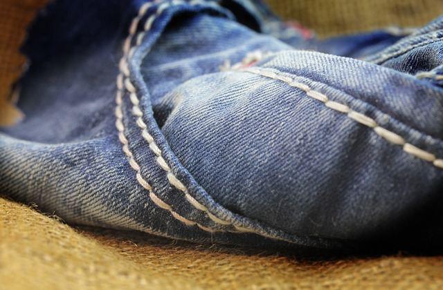 Фото модных джинс