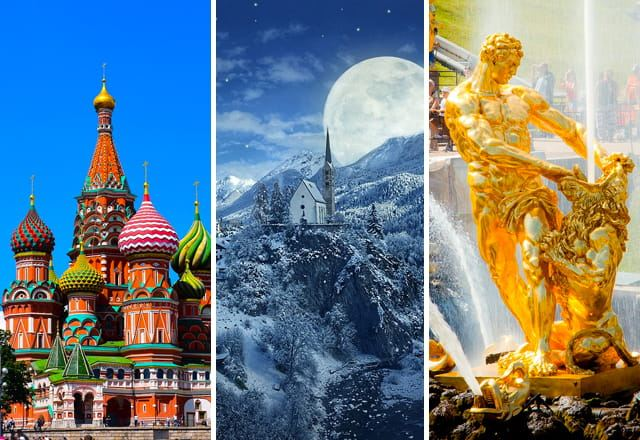 Москва, Великий Устюг, Санкт-Петербург