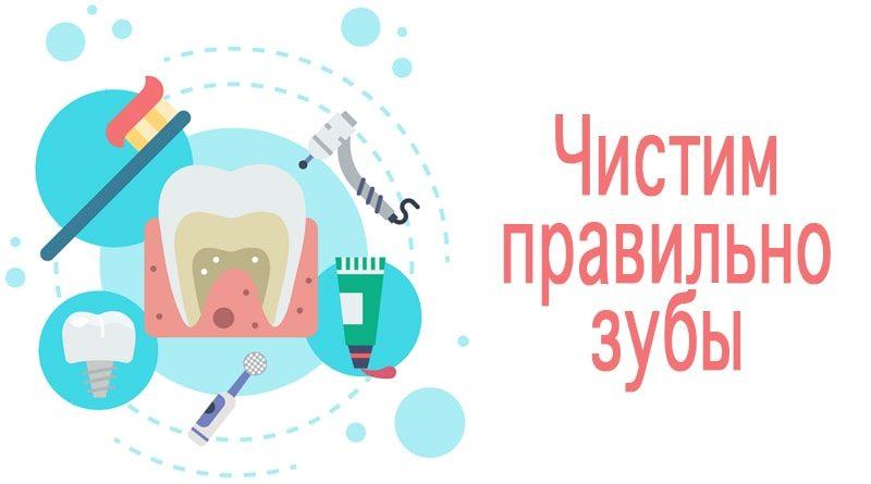 Как очистить зубы от кариеса