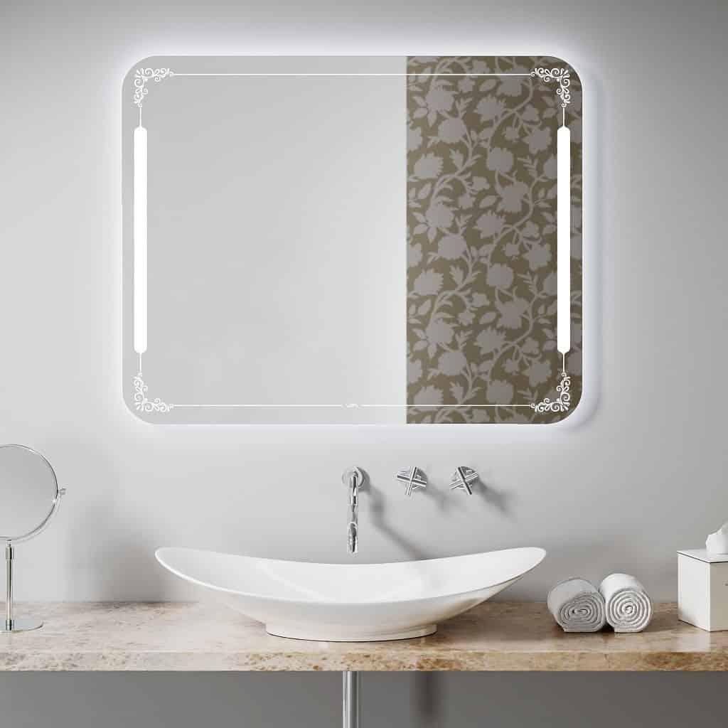 Качественное зеркало для ванной