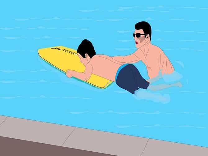 Как правильно плавать кролем 1