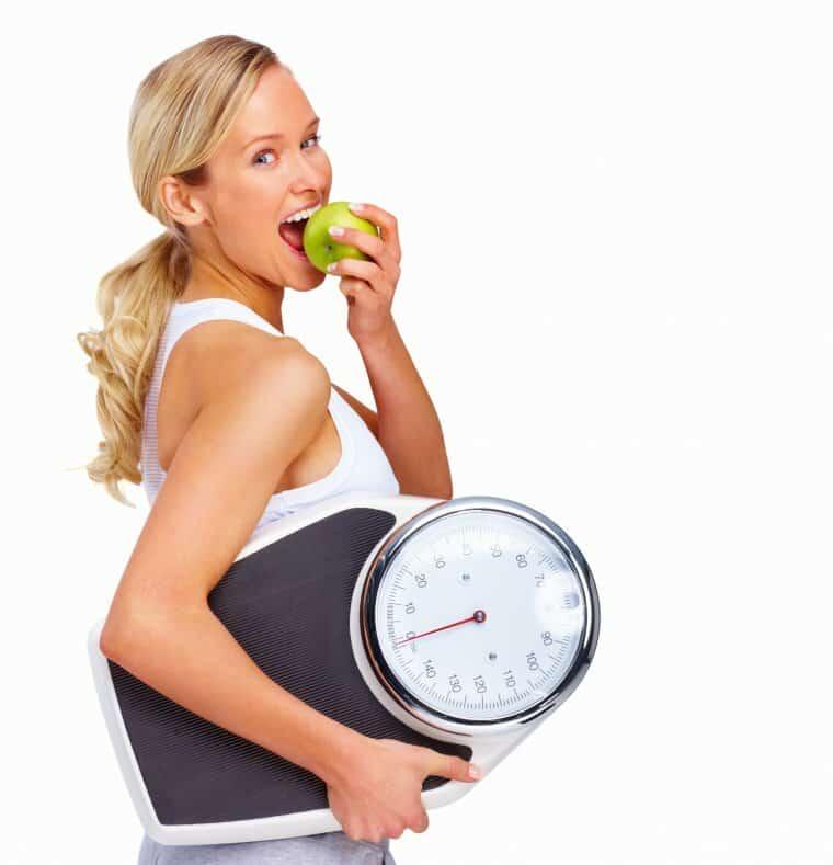 правильное сбалансированное питание с физическими нагрузками