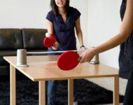 Самодельный теннисный стол для использования в домашних условиях