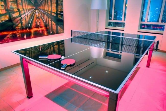 Теннисный стол в стиле модерн