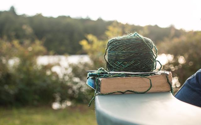 Женское хобби - вязание