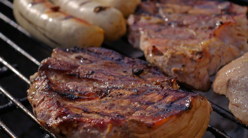 Фото мяса на гриле