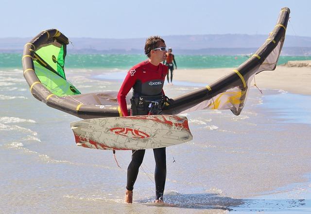 Кайт серфинг - хобби экстремалов