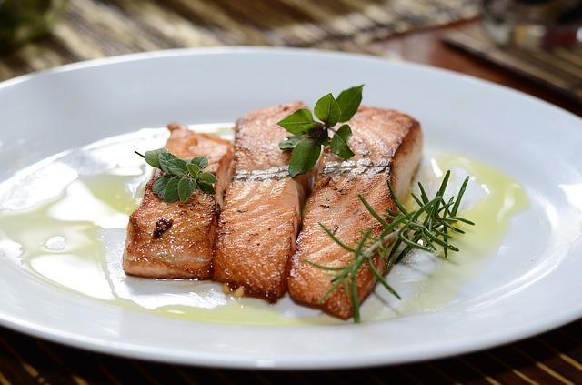 Запеченая рыба в духовке с кремом
