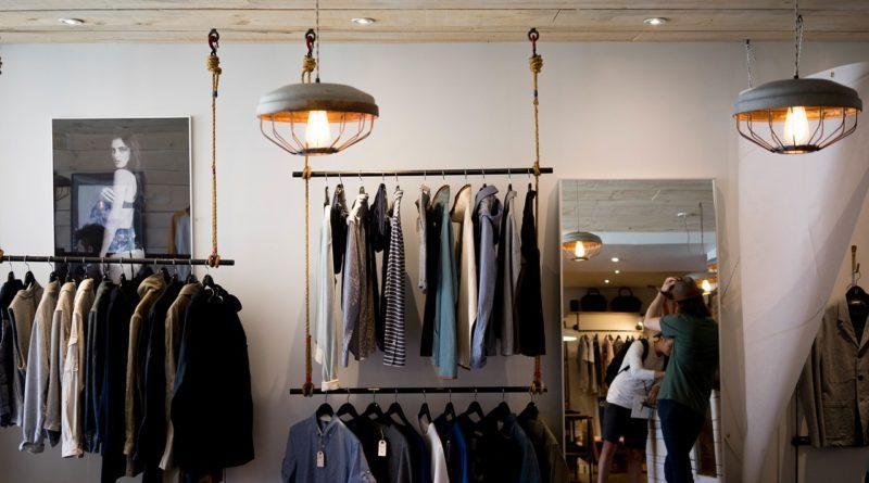 Модный мужской магазин