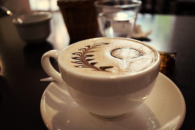 Отличный кофе с пенкой
