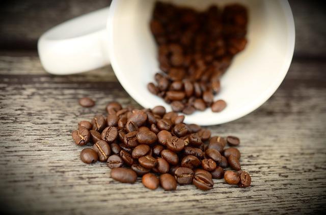 Ароматные зерна кофе