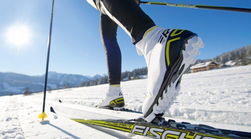 Фото профессиональных беговых лыж
