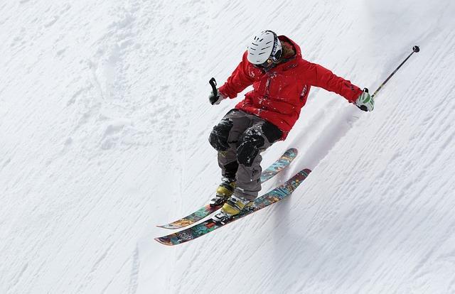 Фрирайдер на горных лыжах