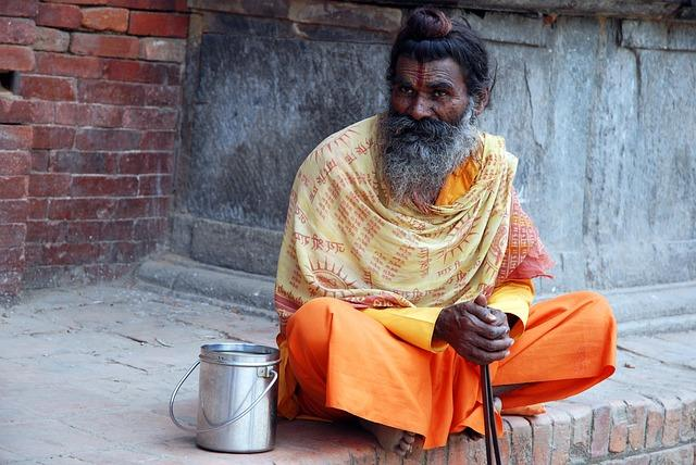 Настоящий йог из Непала