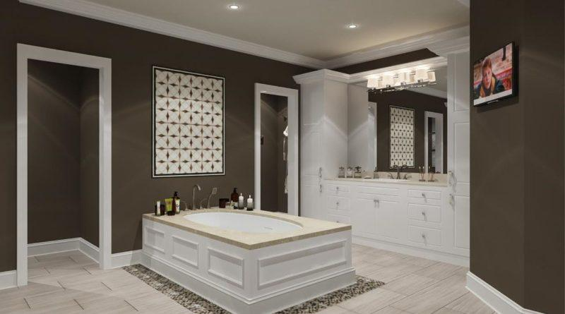 Фото элитной ванной