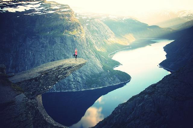 Медитация на высокой горе