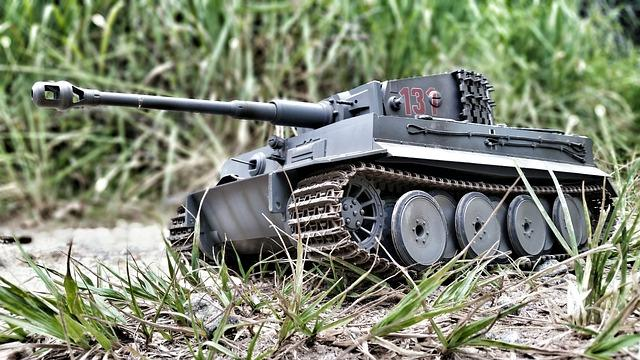 Макет немецкого танка