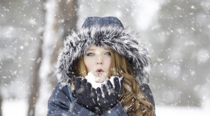 Модный зимний пуховик