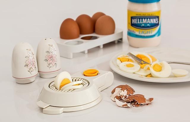Красивое фото яиц вкрутую