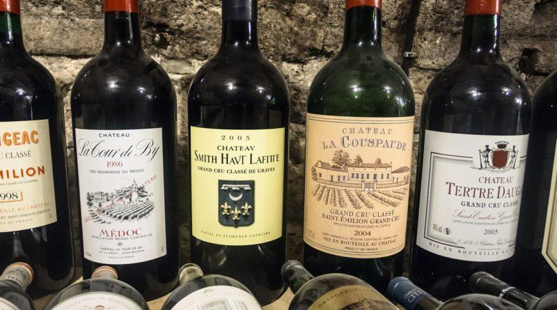 Фото бутылок элитного вина