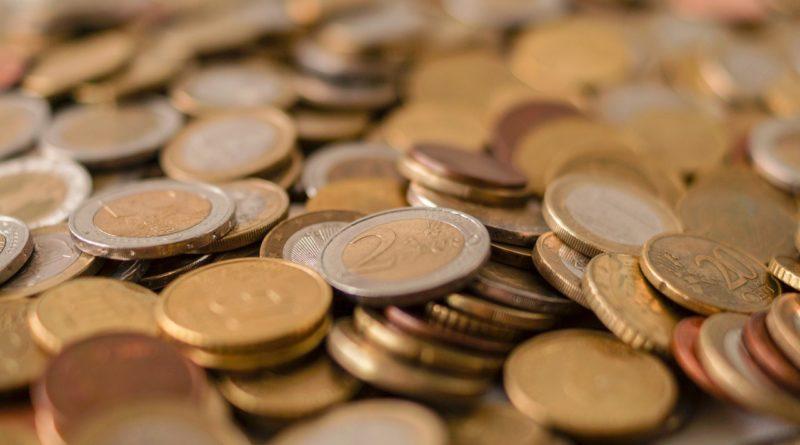 Маленькая зарплата в монетах