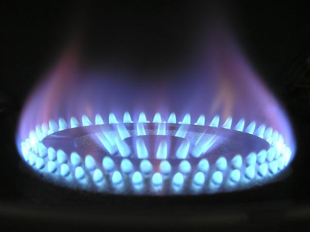 Пламя газовой духовки