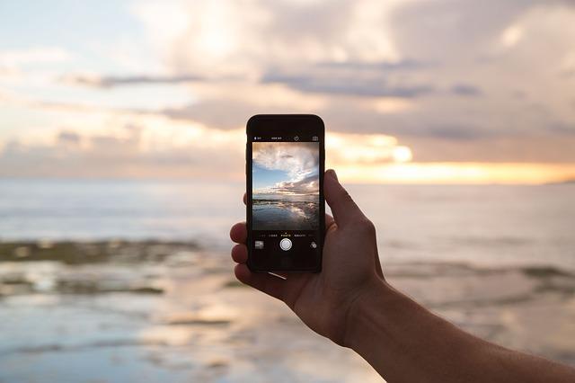 Красивое фото на телефон