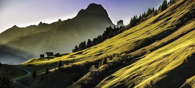 Хижина в горах