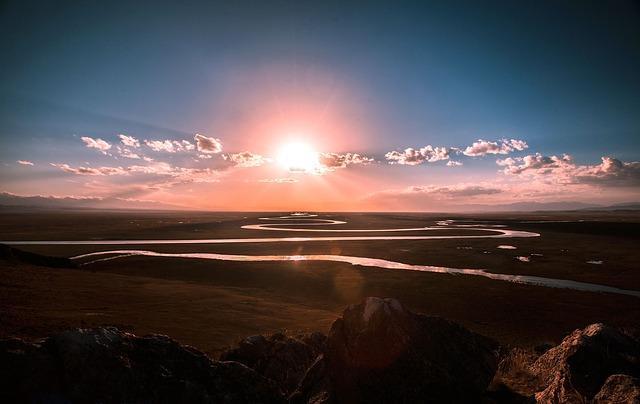 Фото красивой реки