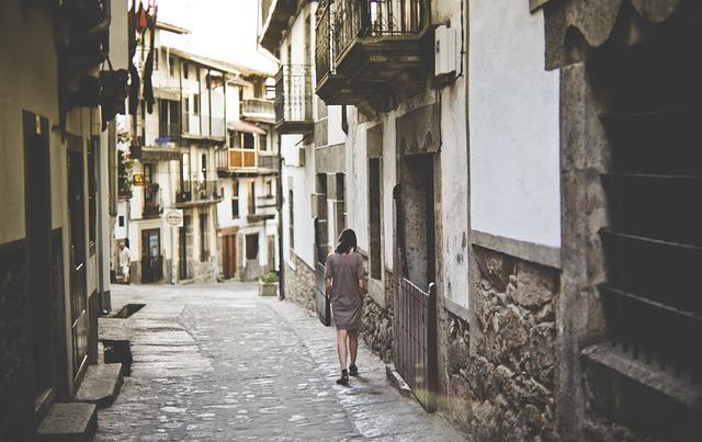 Улочки маленького города