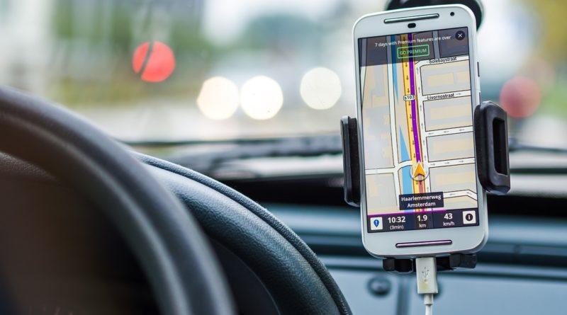 Автомобильные навигатор в телефоне
