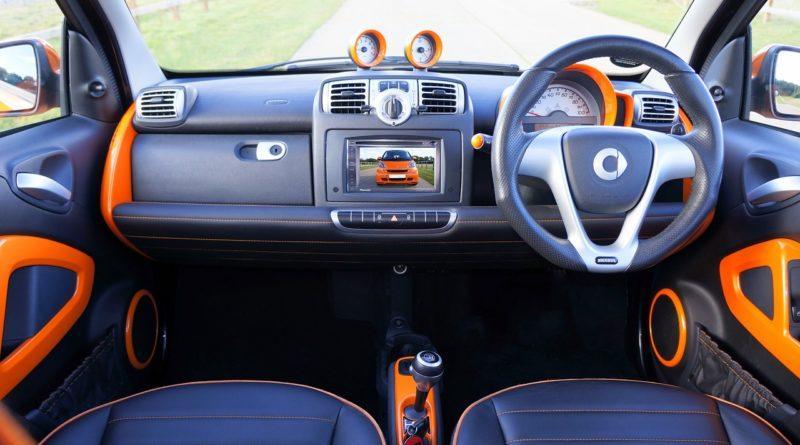Автомобиль Smart на механической коробке