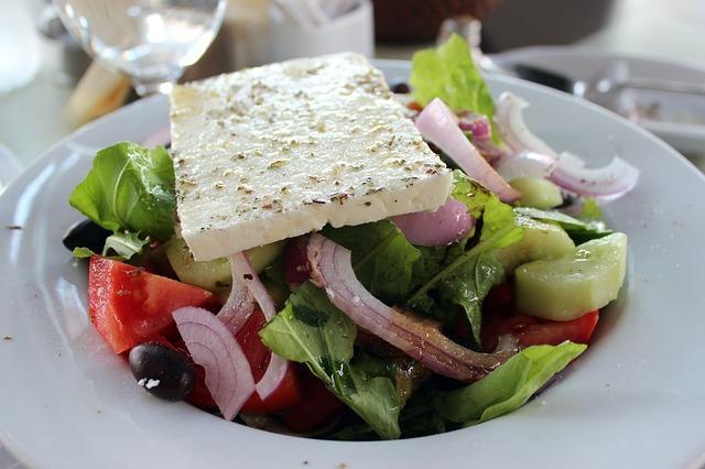 Фото классического греческого салата