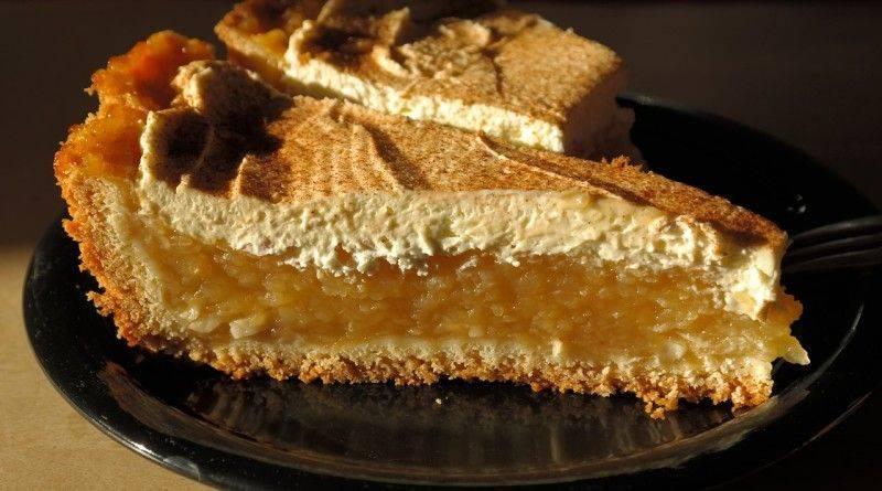 Пирог для круглой формы