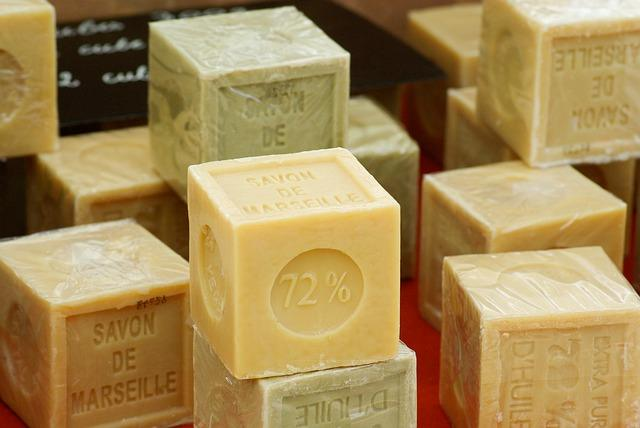 Различные виды мыла
