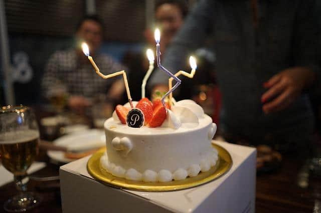 Фото новогоднего торта