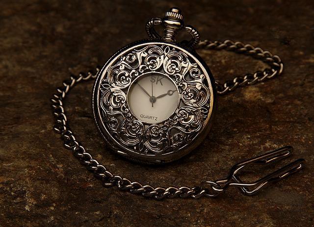 Красивые подарочные карманные часы