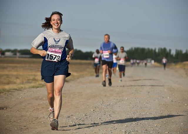 Фото бегунов на длинные дистанции