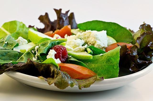 Правильный и здоровый салад