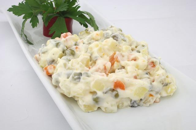 классический рецепт салата оливье от оливье
